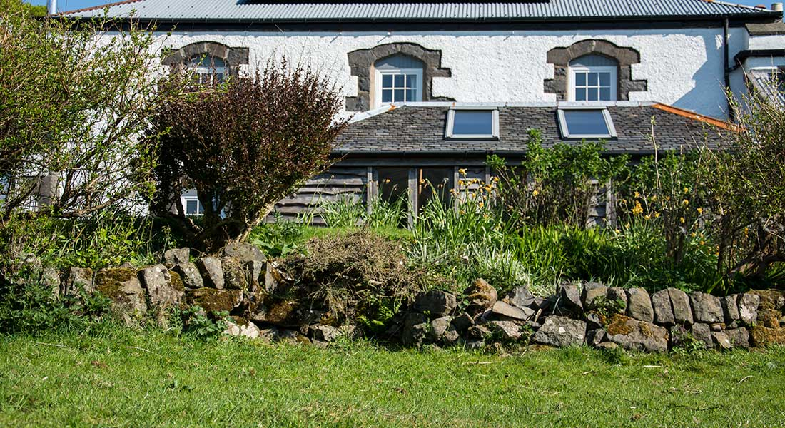 Calgary, Isle of Mull, Self-catering, Hayloft Exterior