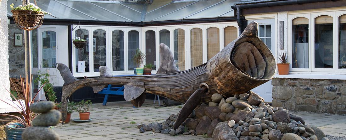 cafe-whale-sculpture
