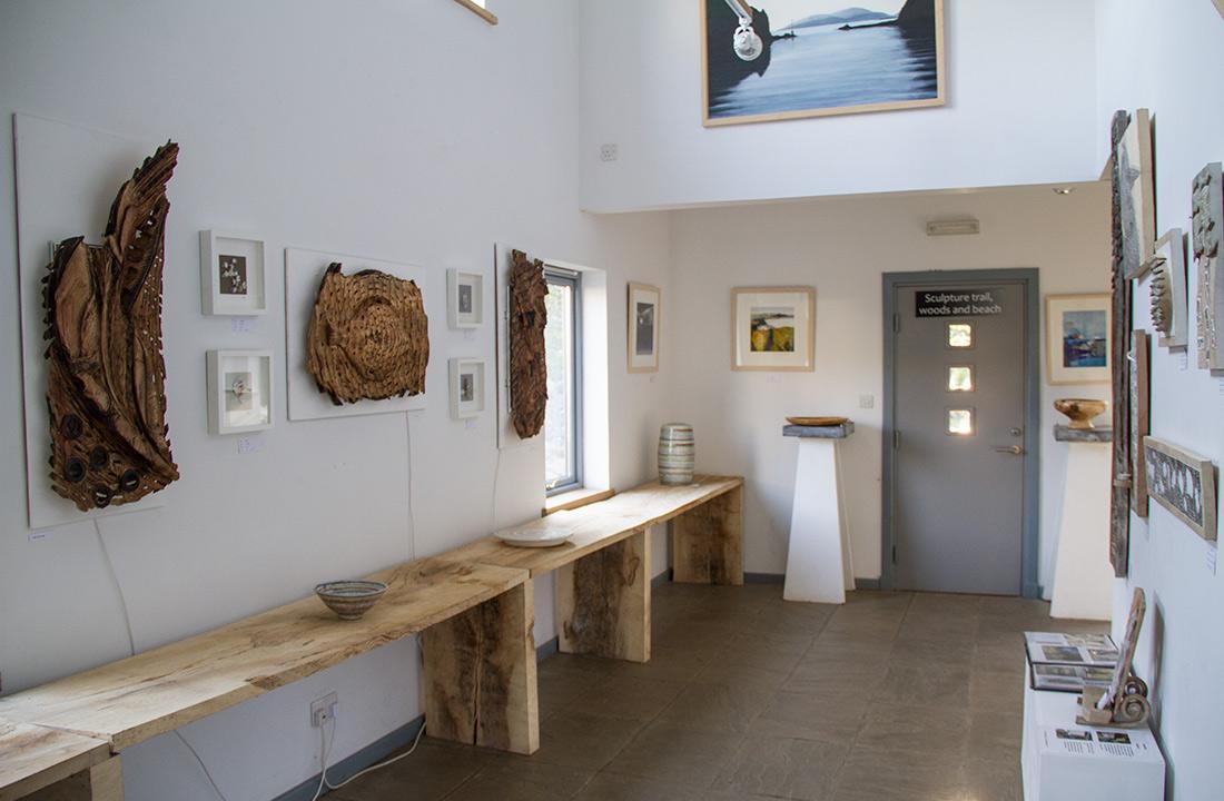 Calgary, Isle of Mull, Art Gallery, area