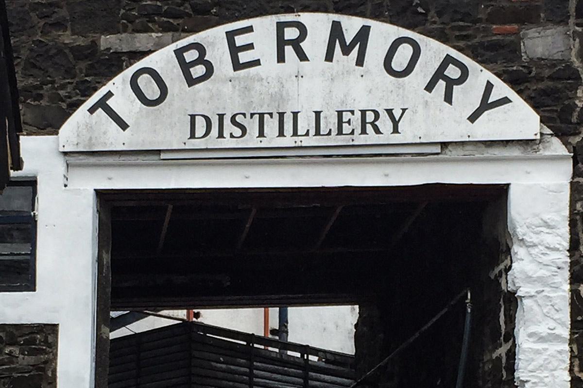 Calgary, Isle of Mull, Tobermory, Tobermory Distillery